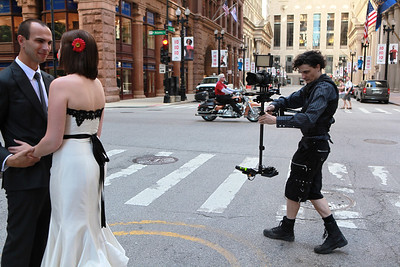Steadicam Operation for Weddings in Chicago