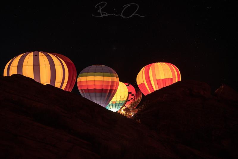Ballon Festival at Sand Hollow Resort