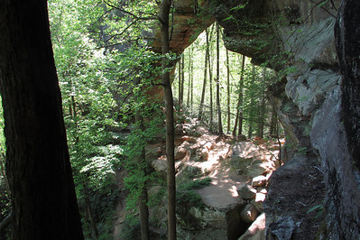 April 2012 Red River Gorge Rough Trail