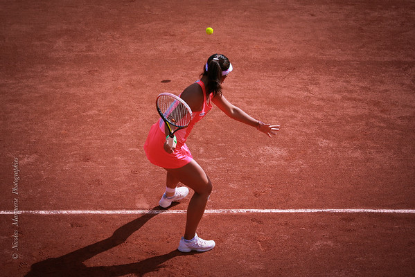 Roland Garros, Qualifications Femmes, 20 Mai 2015, Partie 2