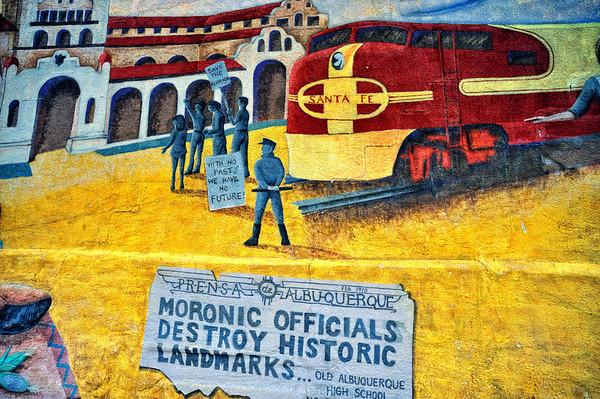 Albuquerque Train Trip 2008