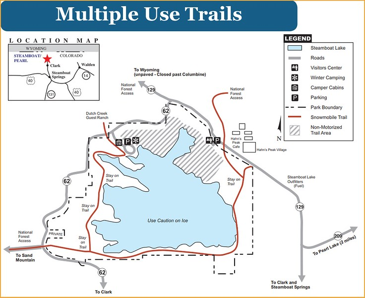 Steamboat Lake State Park (Multi-Use Trails)