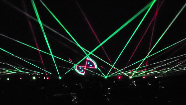 Laser Show at Fairgrounds 10-2020