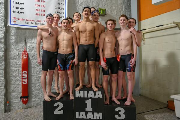 2018 Loyola Blakefield Swimming - MIAA Awards