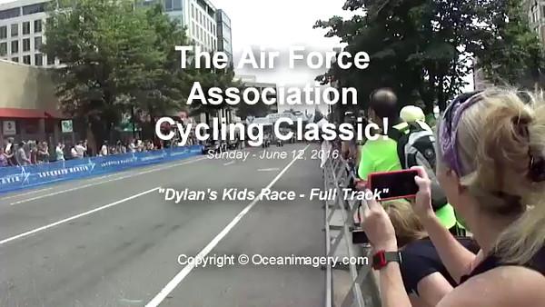 20160614 Arlington, VA. - Dylan's Bike Race Video