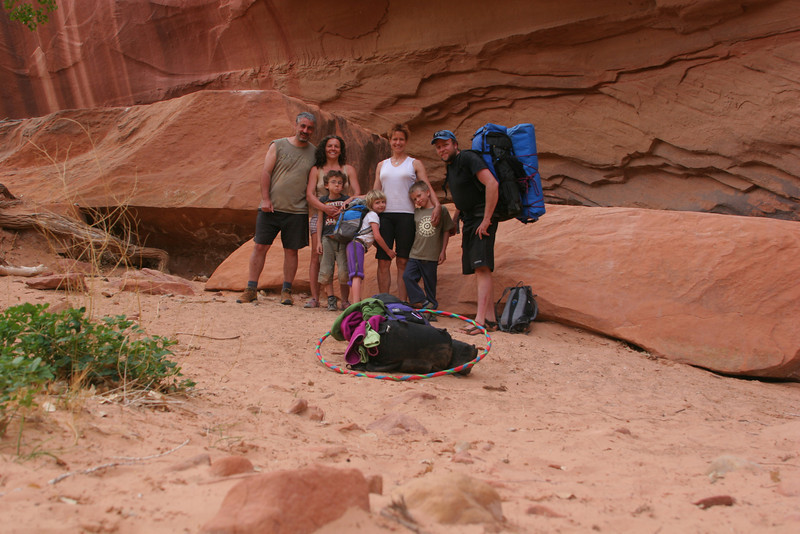 Getting ready for the hike back out of the canyon...