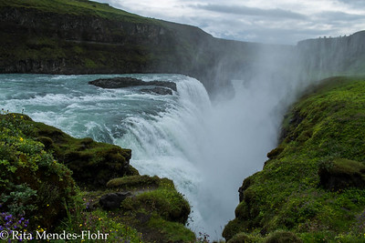 day one in Iceland (on the tourist track this day - The Golden Circle): Thingvallir, Geysir, Gulfoss