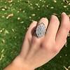 2.65ctw (est) Old Mine Cut Cobblestone Ring, French 41