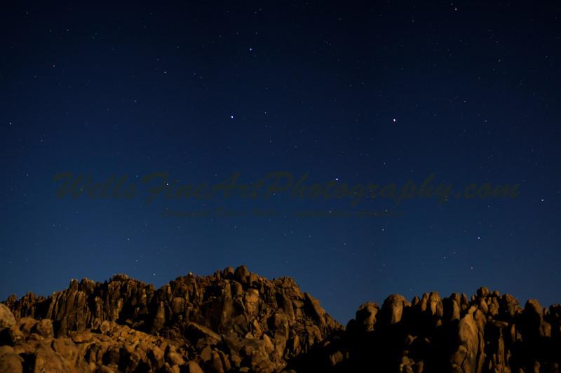 Starlight over Alabama Hills