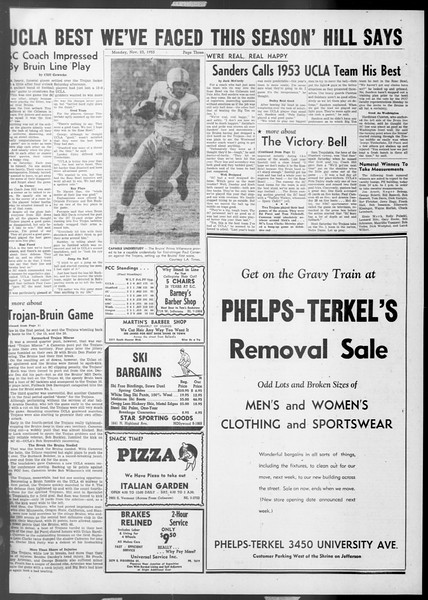 Daily Trojan, Vol. 45, No. 45, November 23, 1953