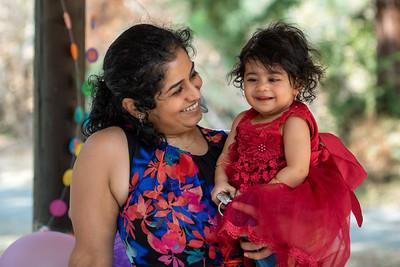 Akshara Bhargav - 07/18/2021 - 1st Birthday