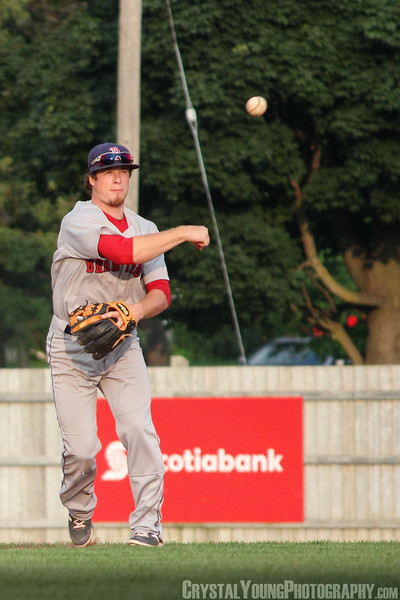 Brantford Red Sox at Guelph Royals IBL Playoffs, Round 1 Game 2 August 3, 2014