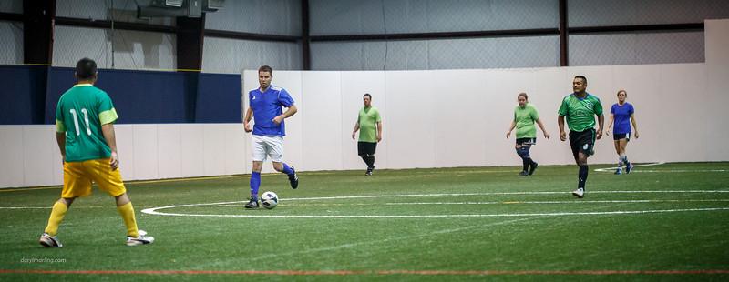 20130424 Super Special Indoor O30 Coed Soccer (vs Warriors)