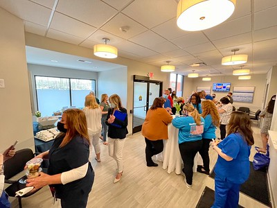 Northwest Medical Group Primary Care Ribbon Cutting 2021