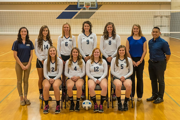Moody Bible Women's Volleyball 2016