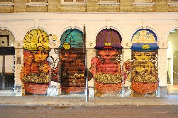 Graffiti on Commercial Street