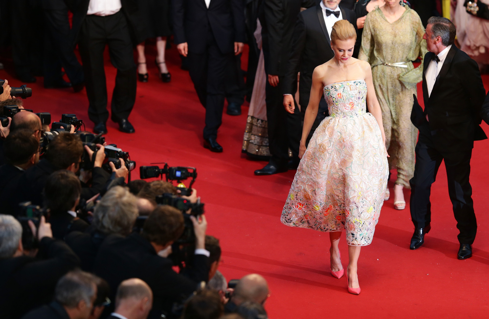 . Nicole Kidman attends the Opening Ceremony and \'The Great Gatsby\' Premiere during the 66th Annual Cannes Film Festival at the Theatre Lumiere on May 15, 2013 in Cannes, France.  (Photo by Vittorio Zunino Celotto/Getty Images)