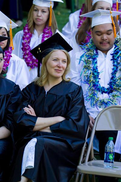 Linda Severs Masters Grad 2012