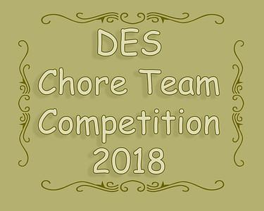 Dunmore Chore Team Competition 2018