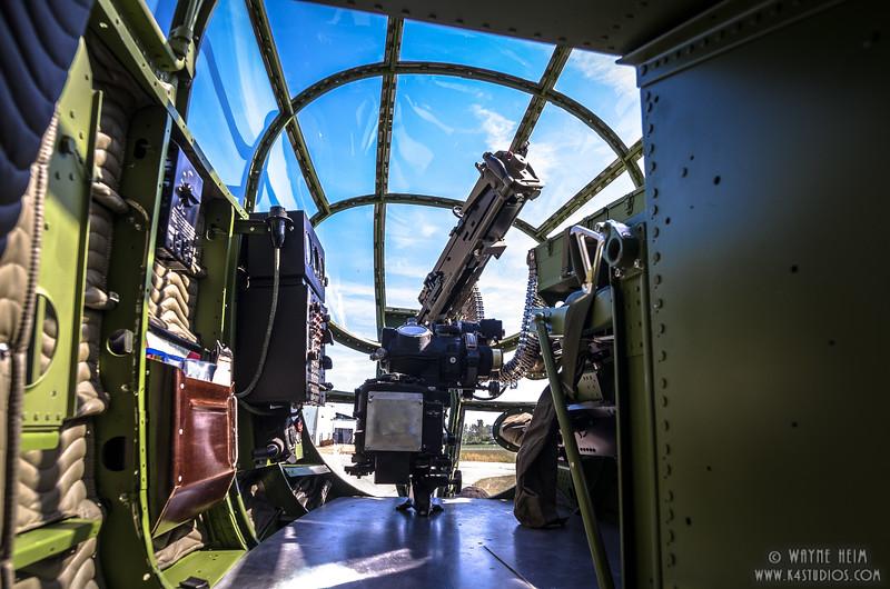 Inside Gun Turret 3   Photography by Wayne Heim