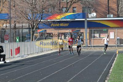 200M - 2014 OU vs UDM Dual Track Meet