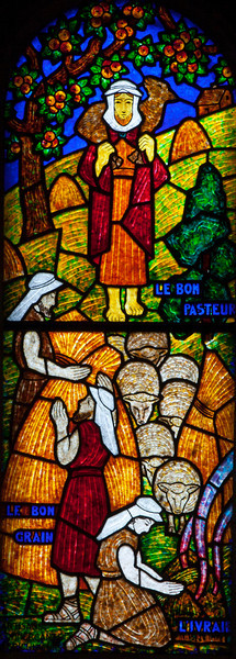 Muids, Eglise Saint-Hilaire - Parable of the Good Shepherd