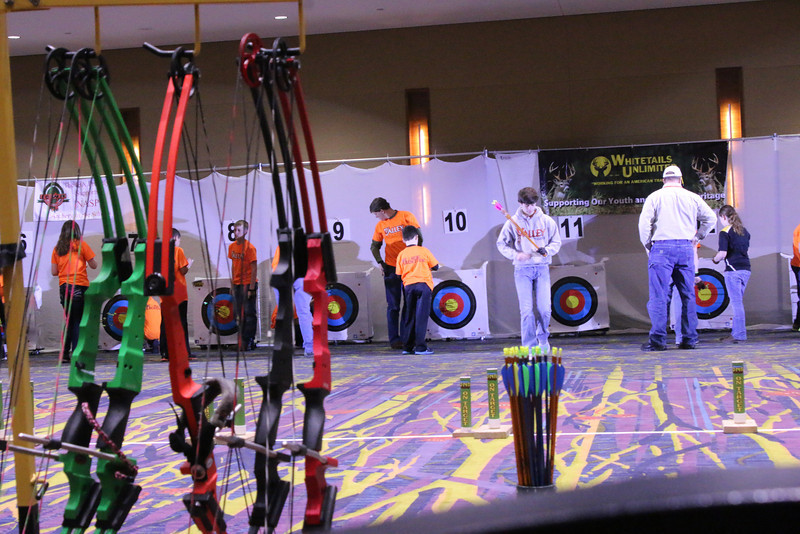March Iowa State Archery Tournament