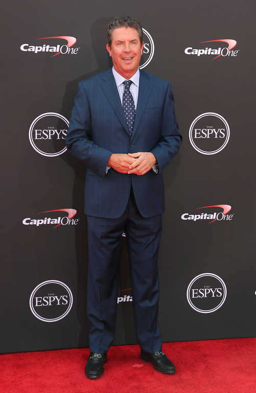 . Former Miami Dolphins quarterback Dan Marino arrives at the ESPY Awards at Microsoft Theater on Wednesday, July 18, 2018, in Los Angeles. (Photo by Willy Sanjuan/Invision/AP)