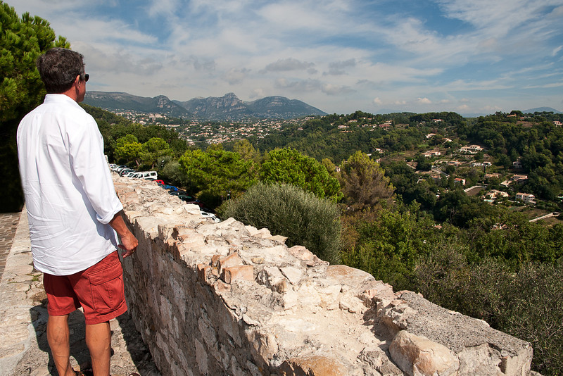 Overlook from St. Paul de Vence