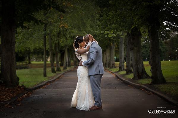 Nigerian Wedding in London // Debbie + Oa