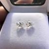 2.49ctw Antique Pear Diamond Pair GIA E VS2/GIA D VS2 7