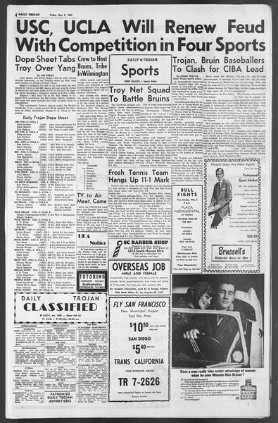 Daily Trojan, Vol. 54, No. 111, May 03, 1963