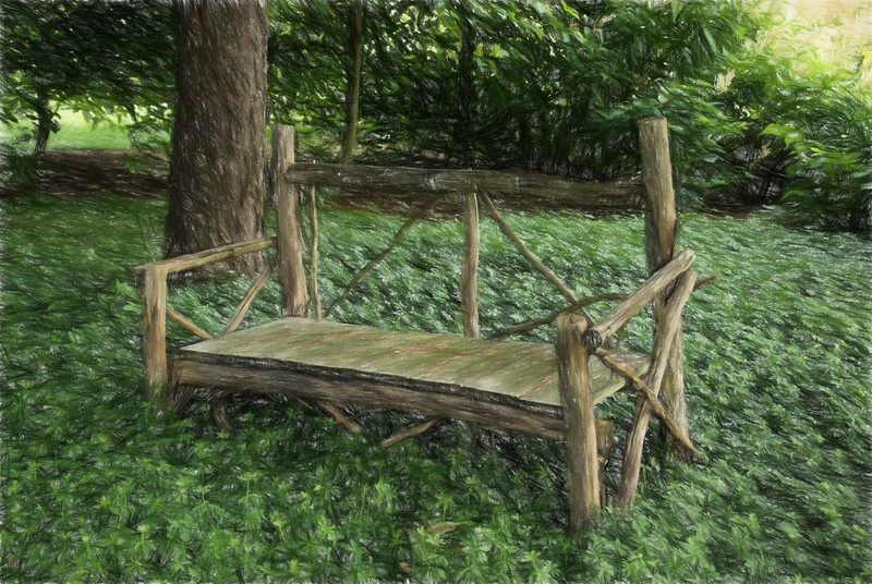 old Bench Coloured Pencil.JPG