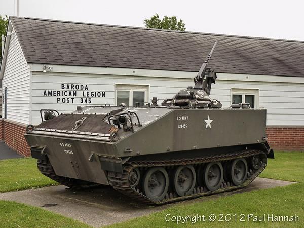 American Legion Post 345 - Baroda, MI - M114A1E1