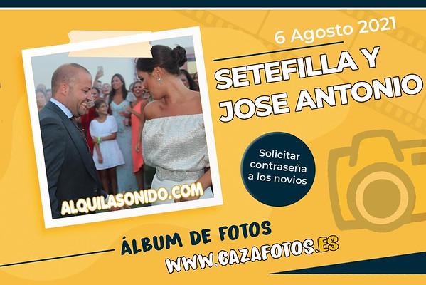 BODA SETEFILLA Y JOSE ANTONIO - 6 AGOSTO 2021