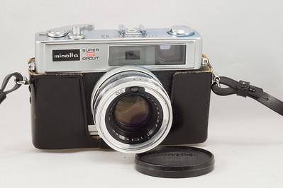 Minolta Super 3 Circuit Hi-Matic II, 1969