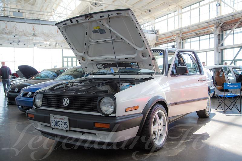 1992 Volkswagen Jetta TDI at WaterWerks 2014