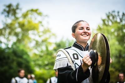 Ohio University Drumline - Band Day 2021