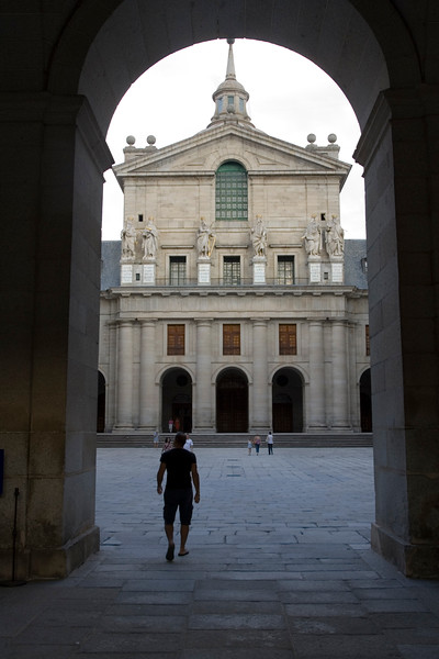 The Royal Monastery of San Lorenzo del Escorial was begun in 1563 by Juan Bautista de Toledo, a Renaissance Spanish architect who had worked earlier in Italy, and was completed after his death in 1567 by Juan de Herrera, who finished the work in 1584. The massive walls of the interior, relieved only by Doric pilasters with no concession to decorative richness, produced a monument that was austere beyond anything the Italian Renaissance ever envisaged. On the exterior the giganticscale of the monastery and the severe gray granite walls are forbidding. There Herrera established his fame and the Herreran style, which was to prevail in Spain for half a century. According to the desire of the king Philip II, most Spanish sovereigns, beginning with the emperor Charles V and Philip II himself, were buried at El Escorial.
