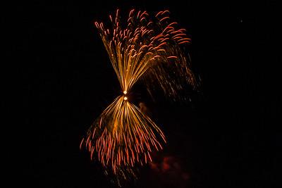 Feuerwerk, Heldenwiese, Lauf
