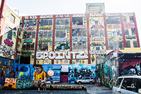 5 Pointz Graffitti in Queens
