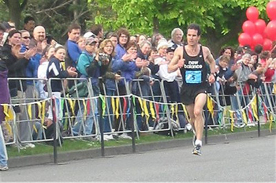 2003 Times-Colonist 10K - Bruce Deacon with a strong second place finish