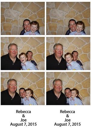 8.7.15 Rebecca & Joe Photobooth