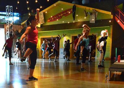2013-06-22 - Zumba fitness class