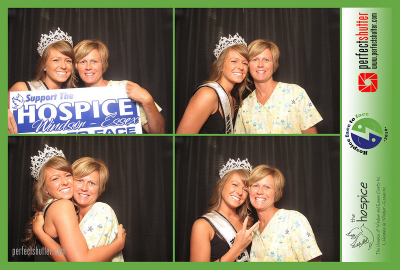 Windsor, ON: Hospice Face-to-Face Kickoff Photo Booth Rental