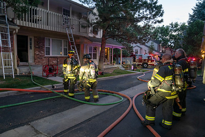 Appleton Circle Townhouse Fire