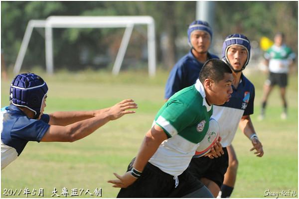 2011大專盃7s-乙組準決賽-台灣大學 vs 海洋大學(semi-final-NTU vs NTOU)