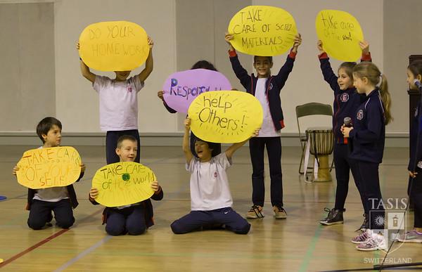 All-School ES Assembly - Third Grade