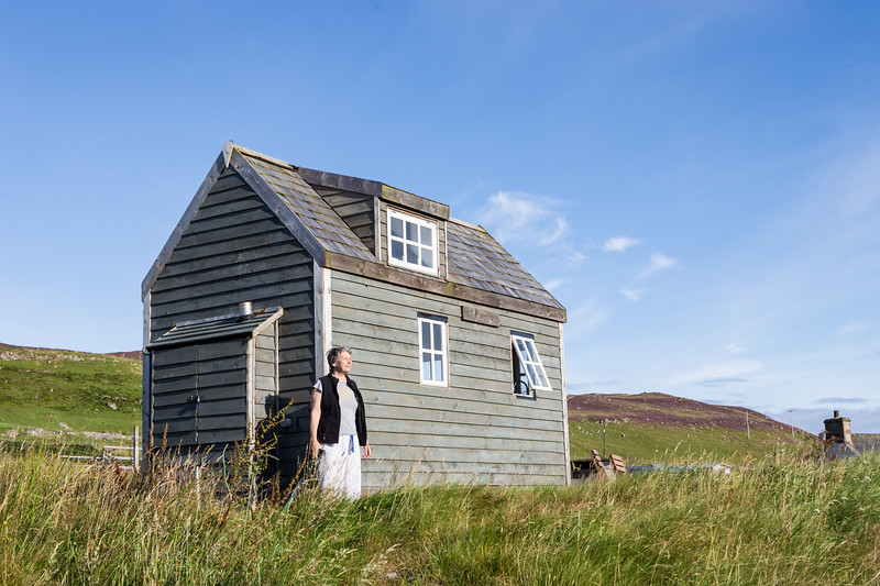Staying in a Scottish tiny house is really...tiny. A boomer traveler shares her Scottish tiny house travel experience.