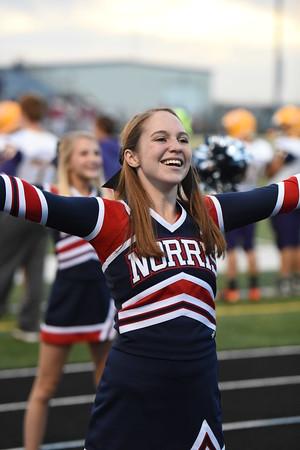 Cheerleaders - NE City FB Game